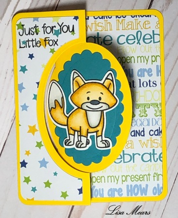 Foxes2Stamp Birthday Card