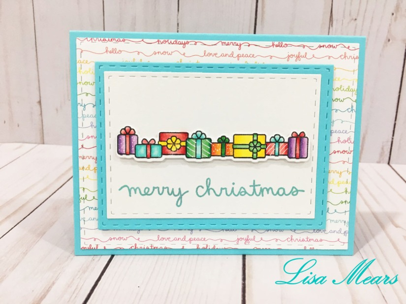 lawn fawn simply celebrate winter presents card