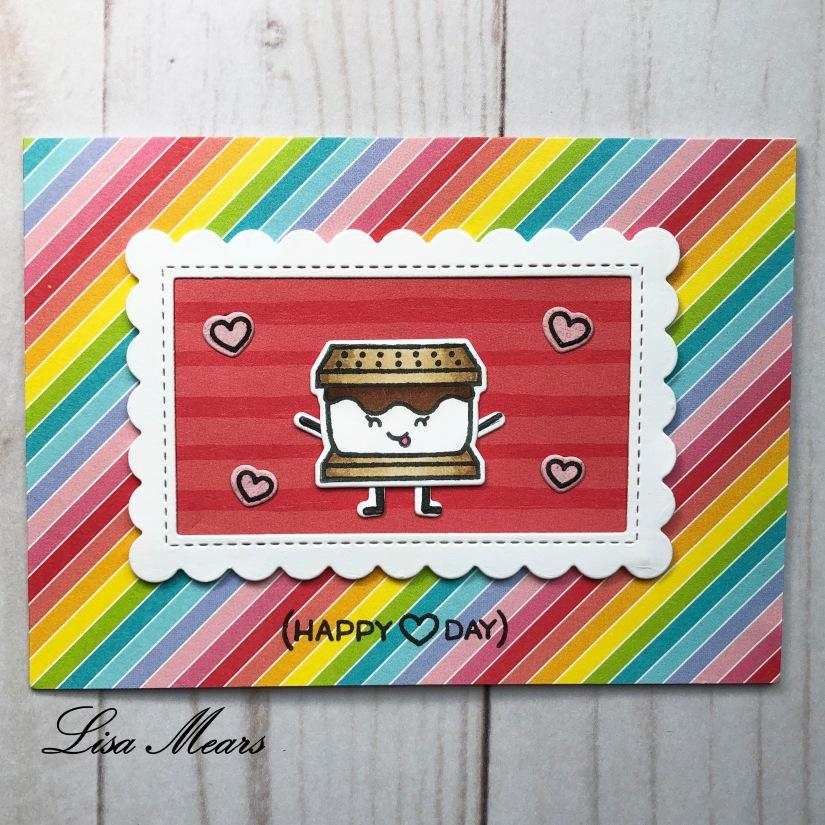 Valentine Smore Card Horizontal
