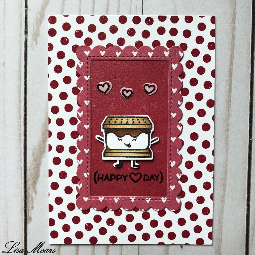 Valentine Smore Card