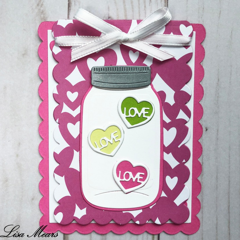 Valentines Day Jar Card