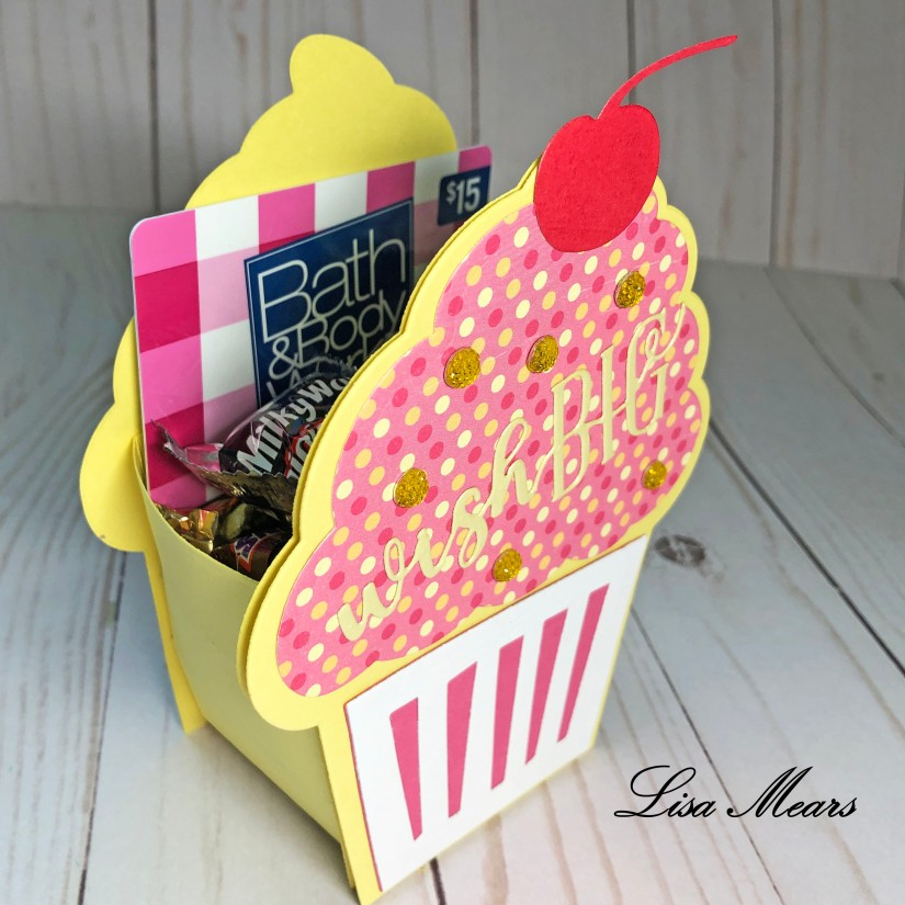 Cupcake Fold-It Box-It Side