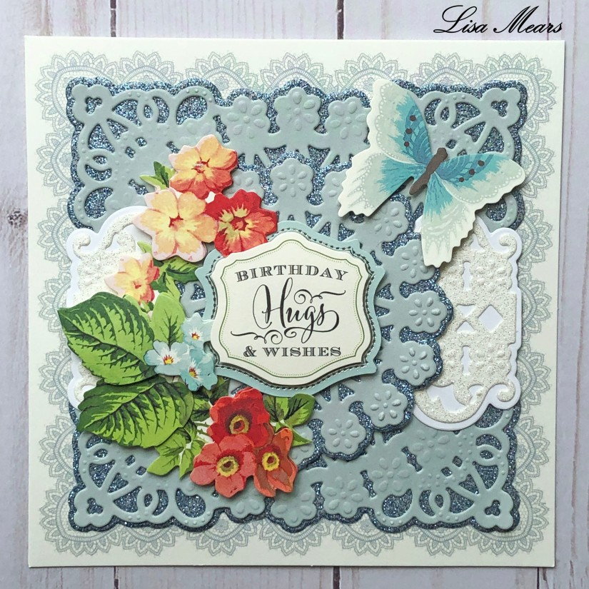 Anna Griffin Blue Birthday Card Square 2019-04