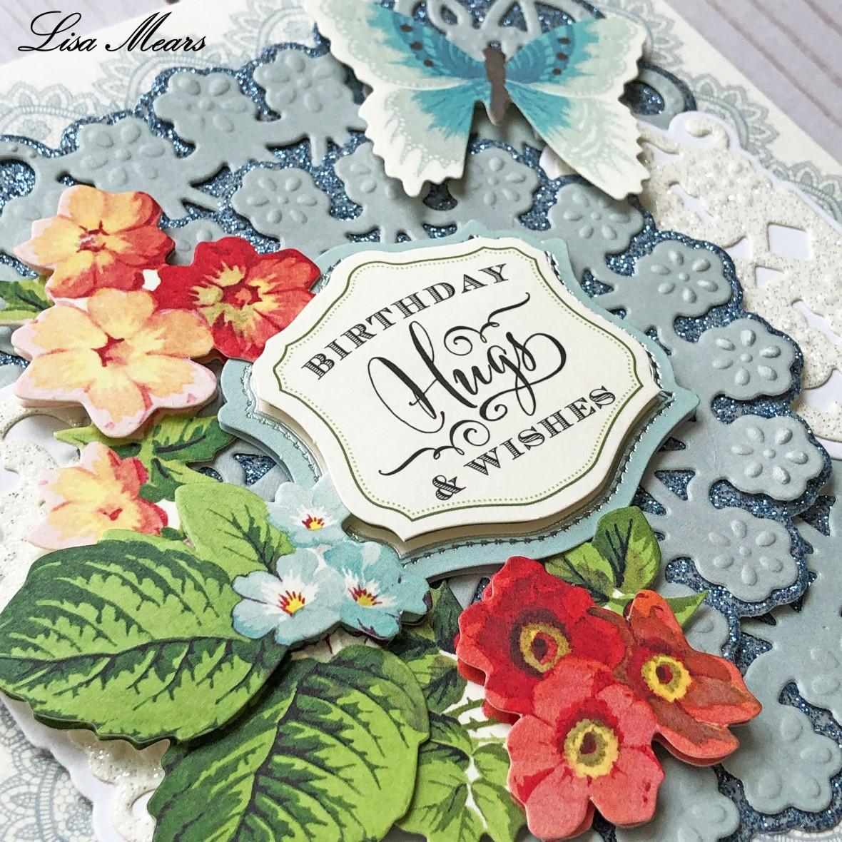 Anna Griffin Blue Birthday Card Square_closeup 2019-04
