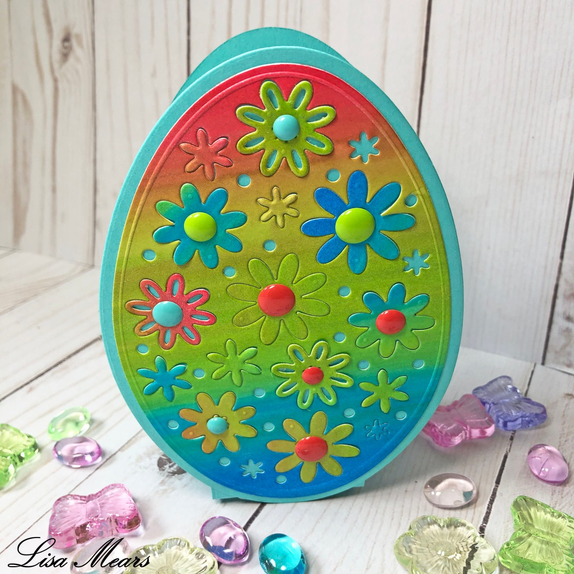 Easter Egg Fold-it basket The Stamps of Life
