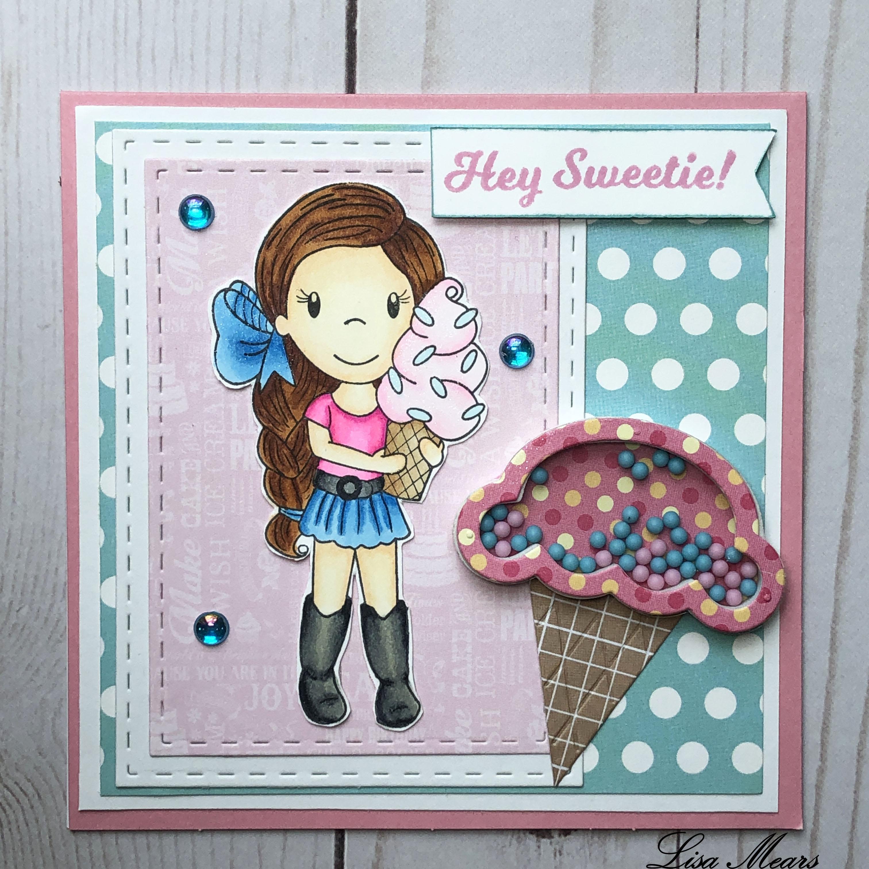 Ice Cream Emma Paper Nest Dolls