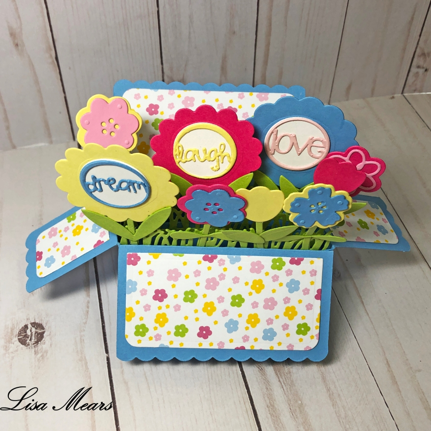 Flower Box Card - The Stamps of Life