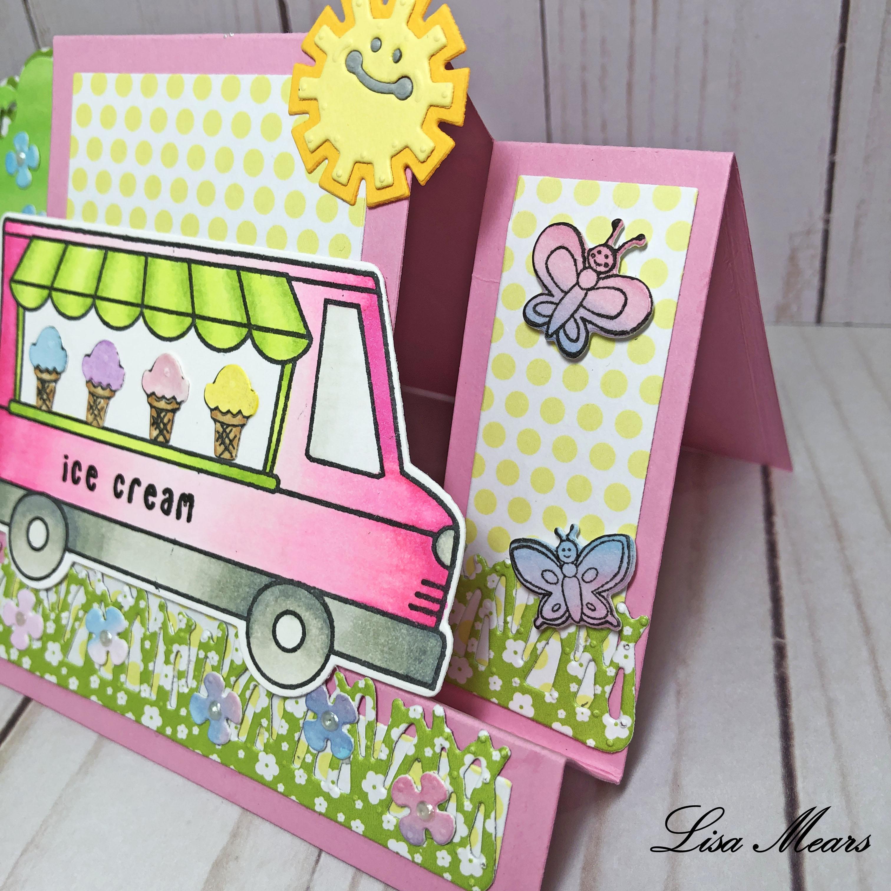 Ice Cream Truck Card