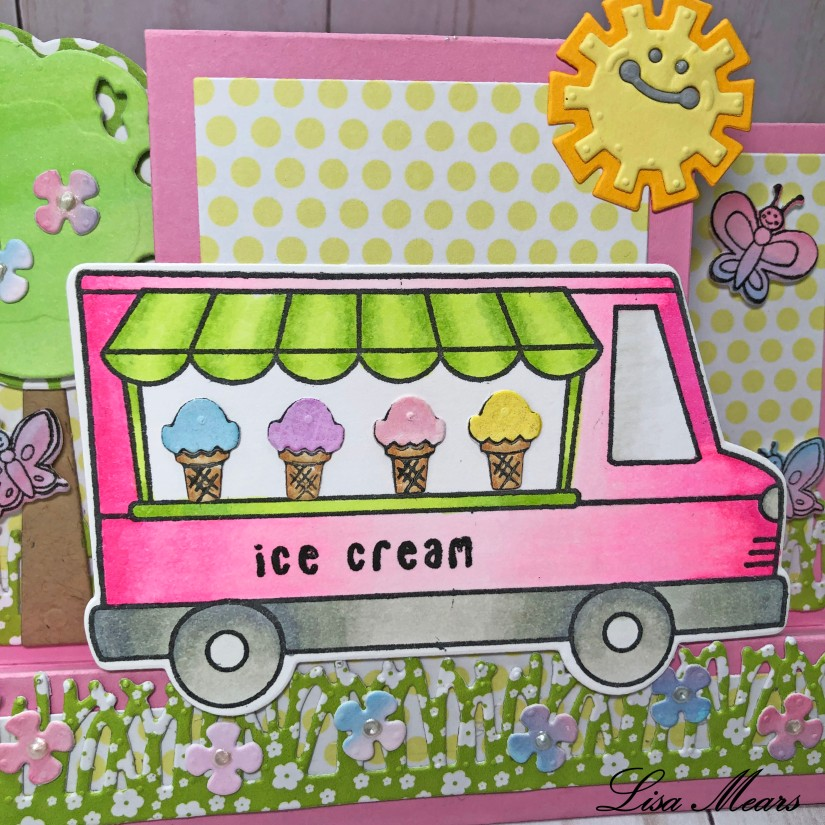 Ice Cream Truck Card