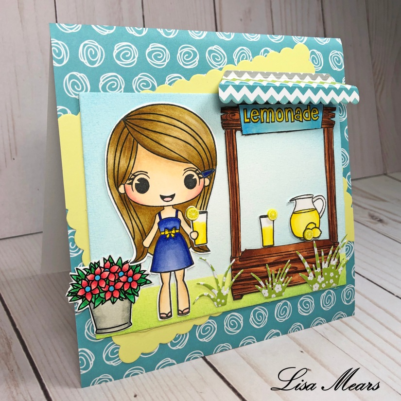 Stamp Anniething Lemonade Stand by Lisa Mears