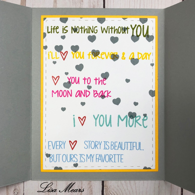 Love Statement Card