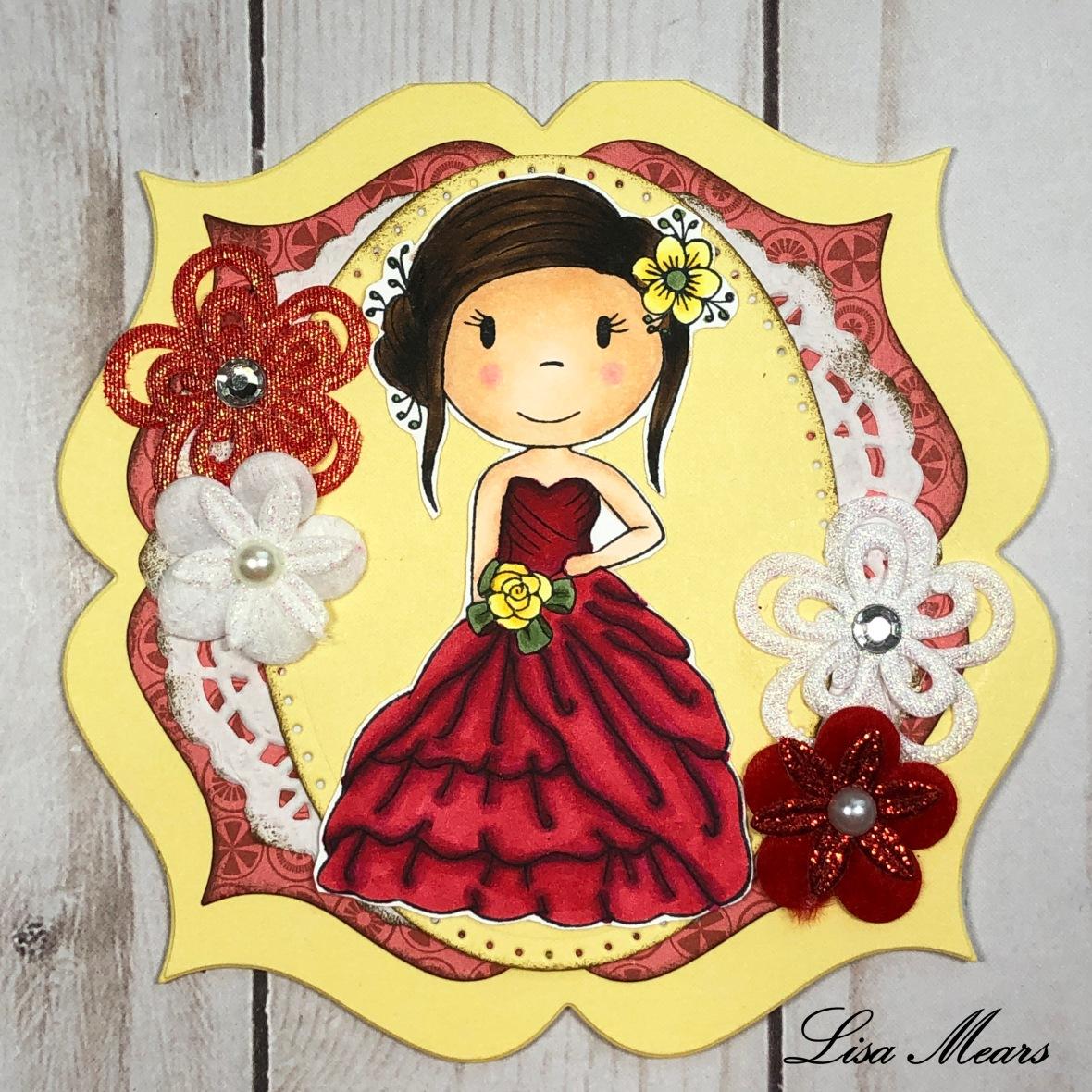 Ballgown Avery - Paper Nest Dolls