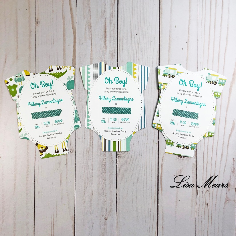 Bundle of Joy Shower Invitations