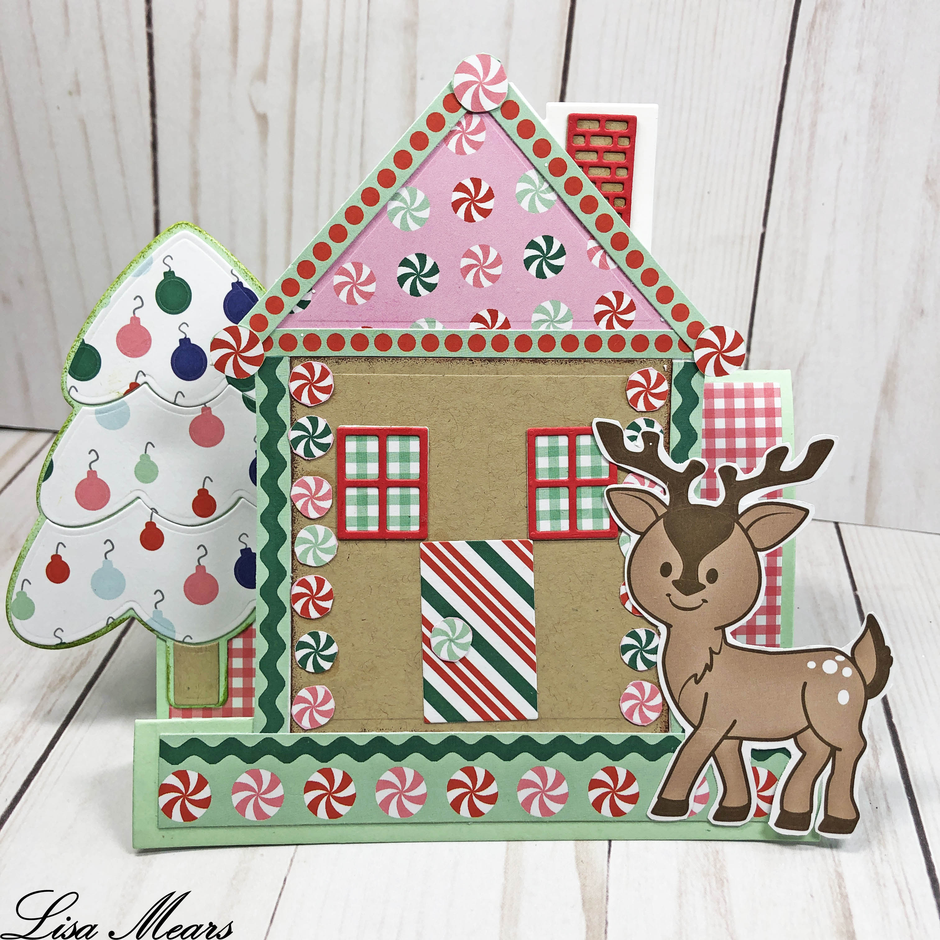 The Stamps of Life September 2018 Card Kit - Gingerbread House