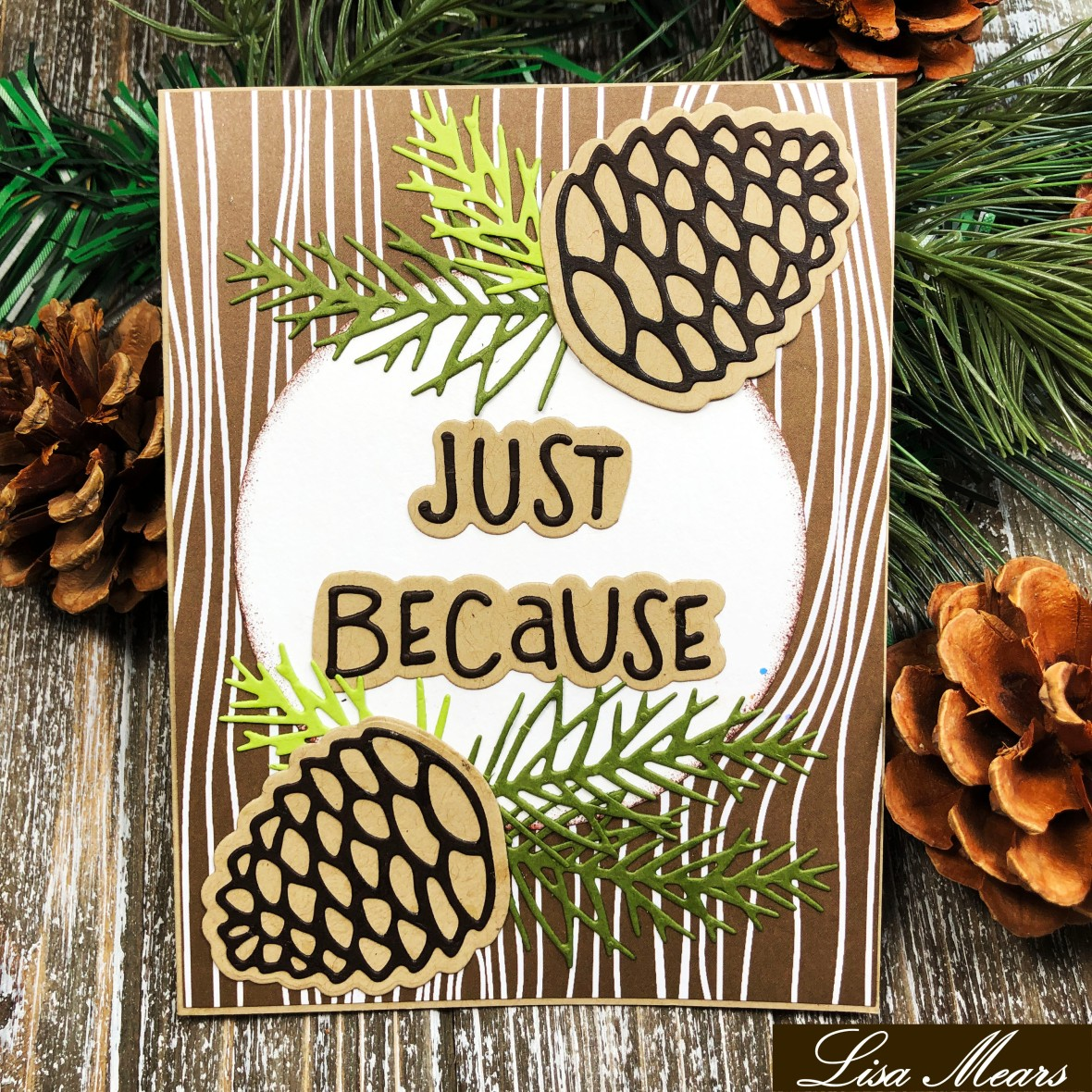 The Stamps of Life October 2019 Release - Pinescone2Stamp and Card Kit
