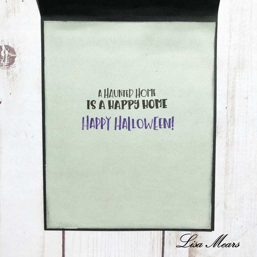 Stamp Anniething Halloween Card using Viva la Vida Stamp