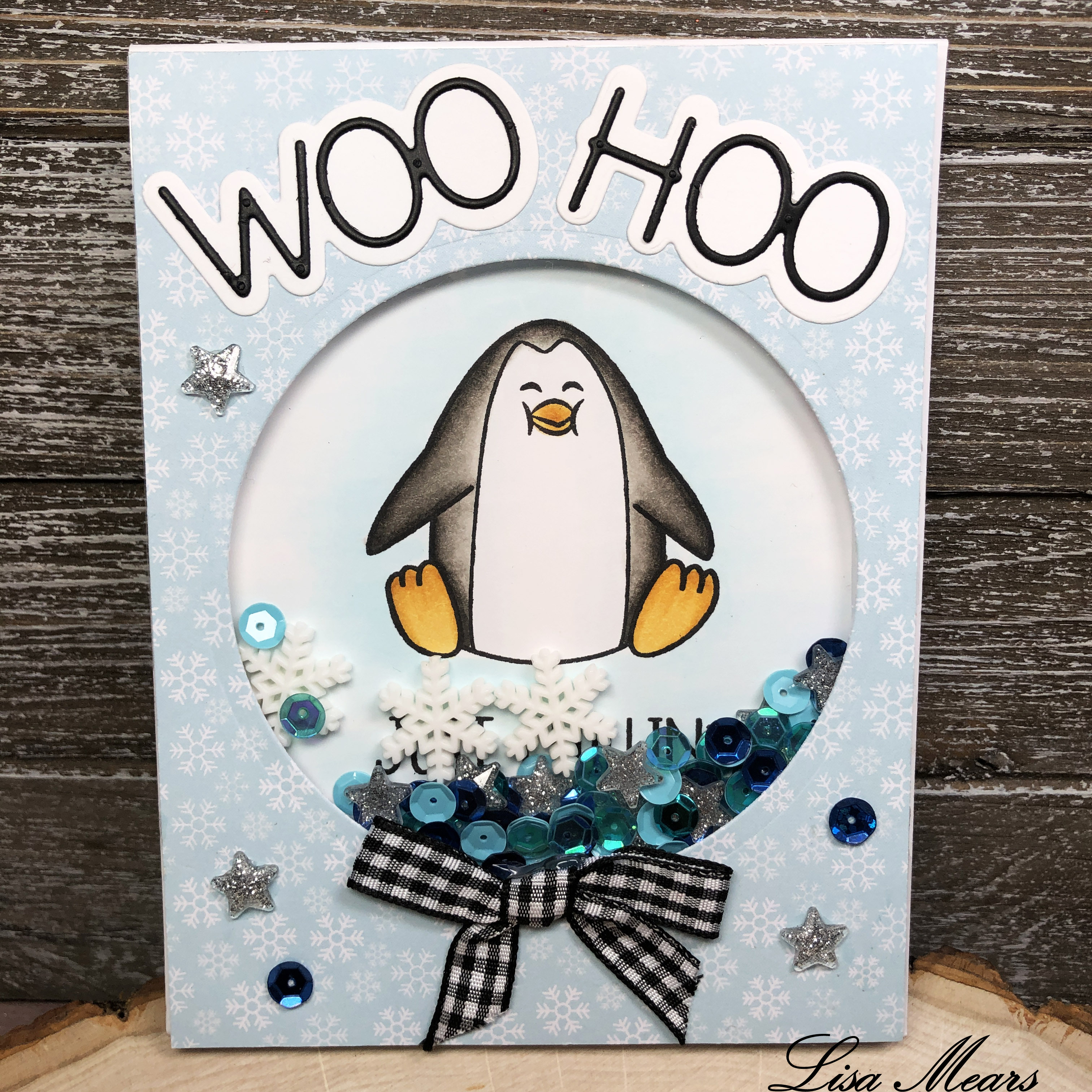 The Stamps of Life November Card Kit and Penguins2Stamp