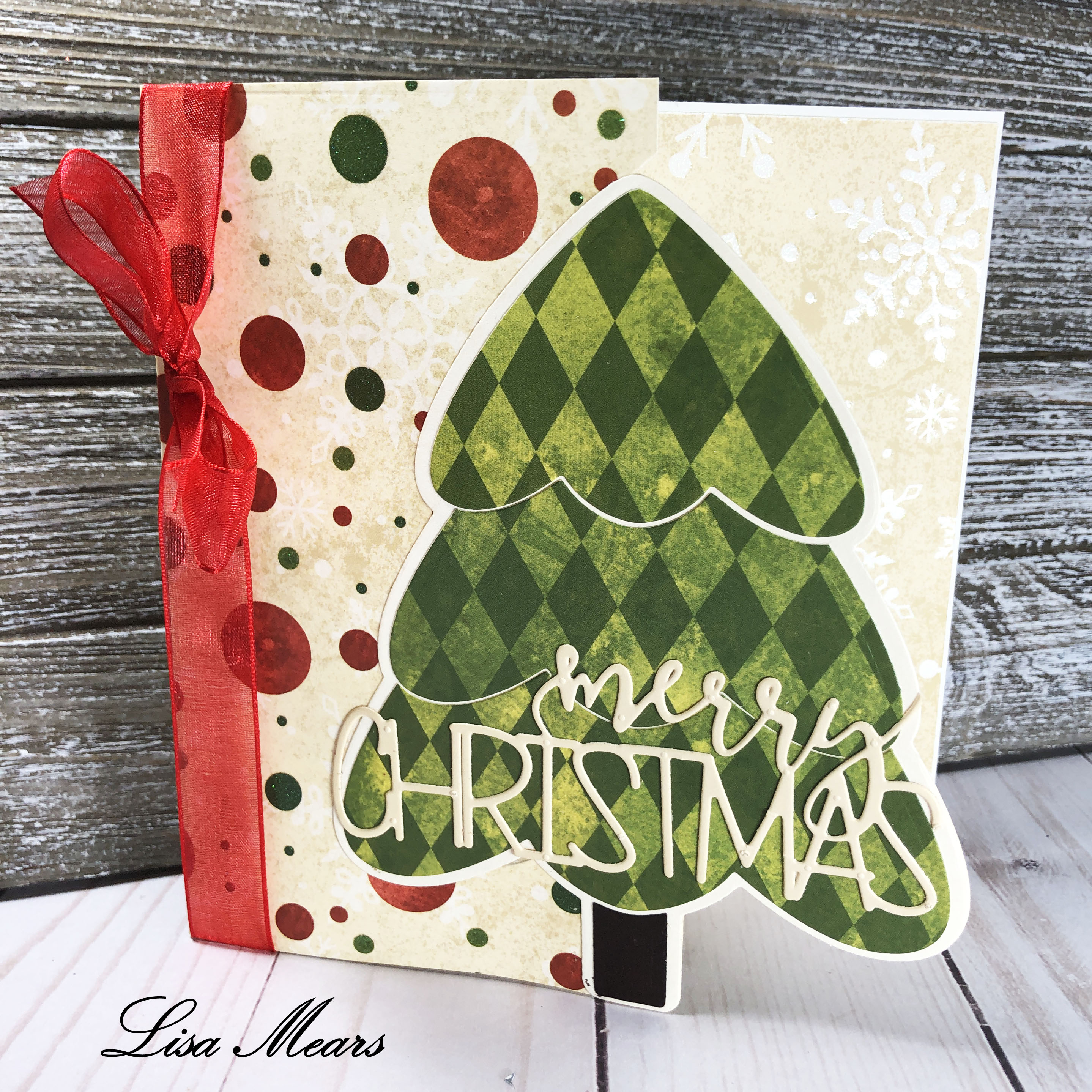 The Stamps of Life Christmas Tree Fold-it