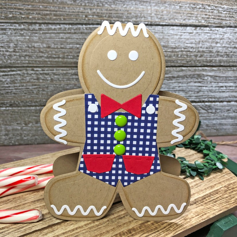 Gingerbread Man Handmade Cards - The Stamps of Life