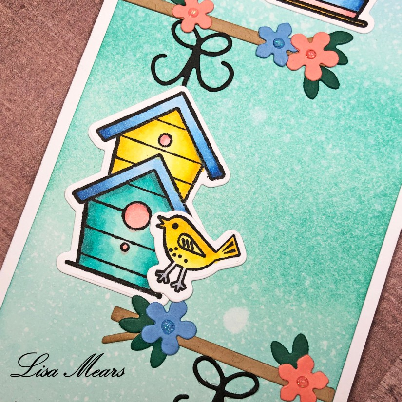 Birdhouse Card The Stamps of Life