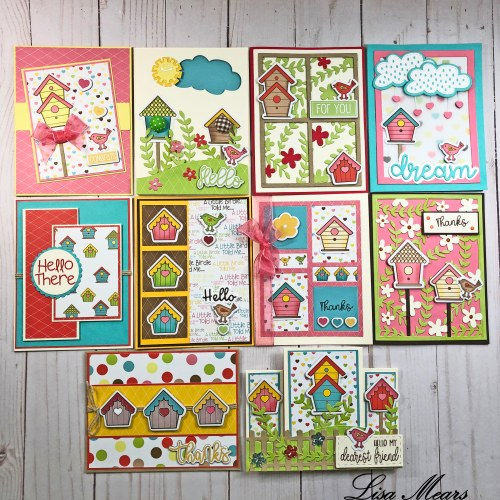 The Stamps of Life January 2020 Card Kit - 10 Cards 1 Kit