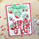 Sending You Lots of Love Shaker Card The Stamps of Life