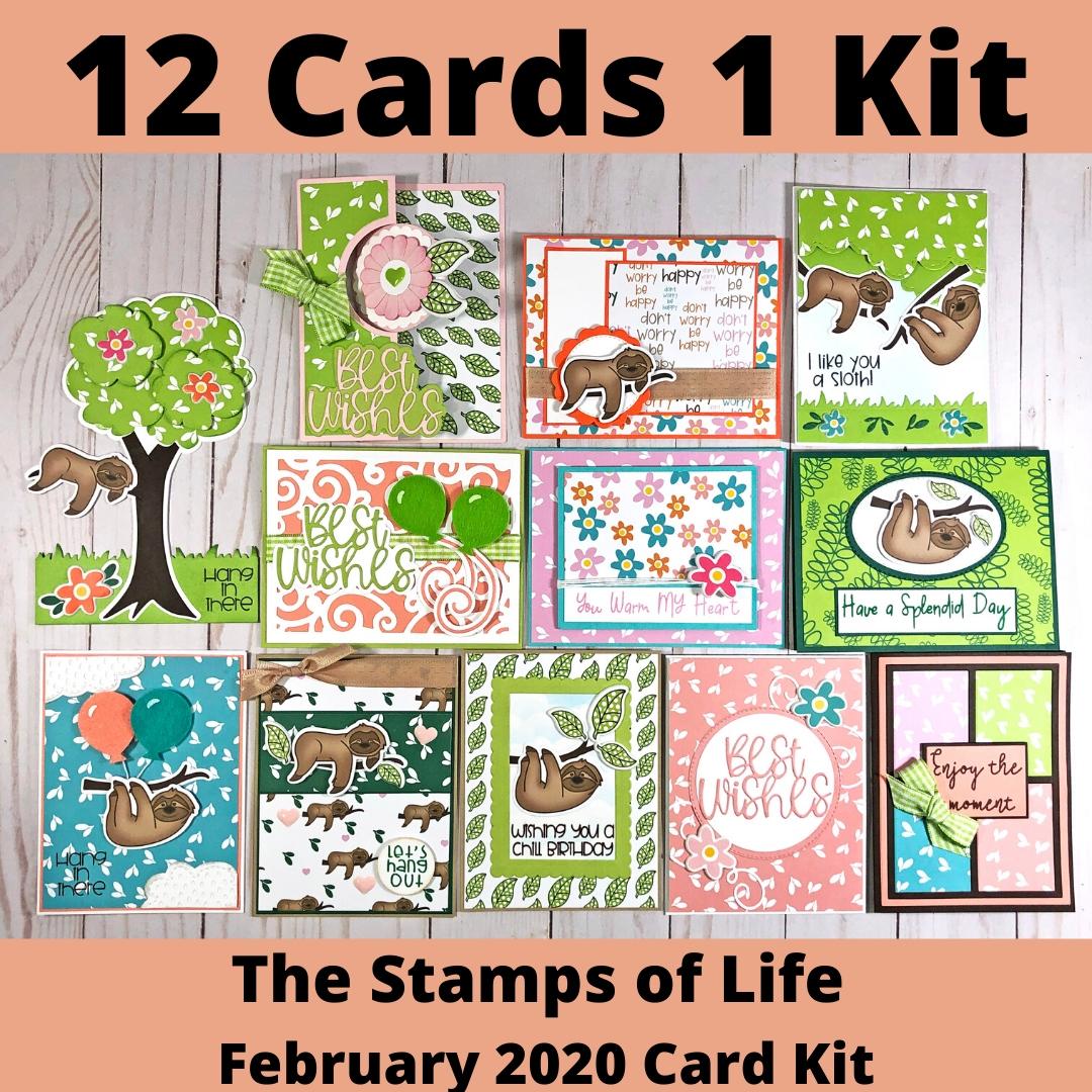 12 Cards 1 Kit