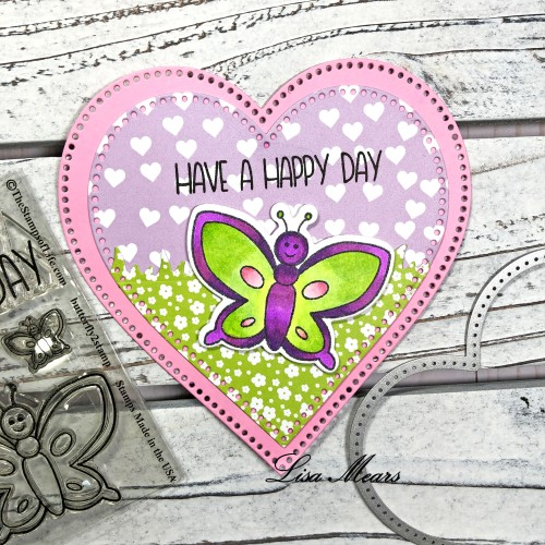 Butterfly Valentine's Day Card