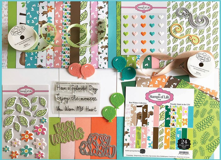 The Stamps of Life February Card Kit