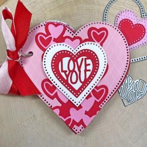 Love You Heart Shaped Mini Album