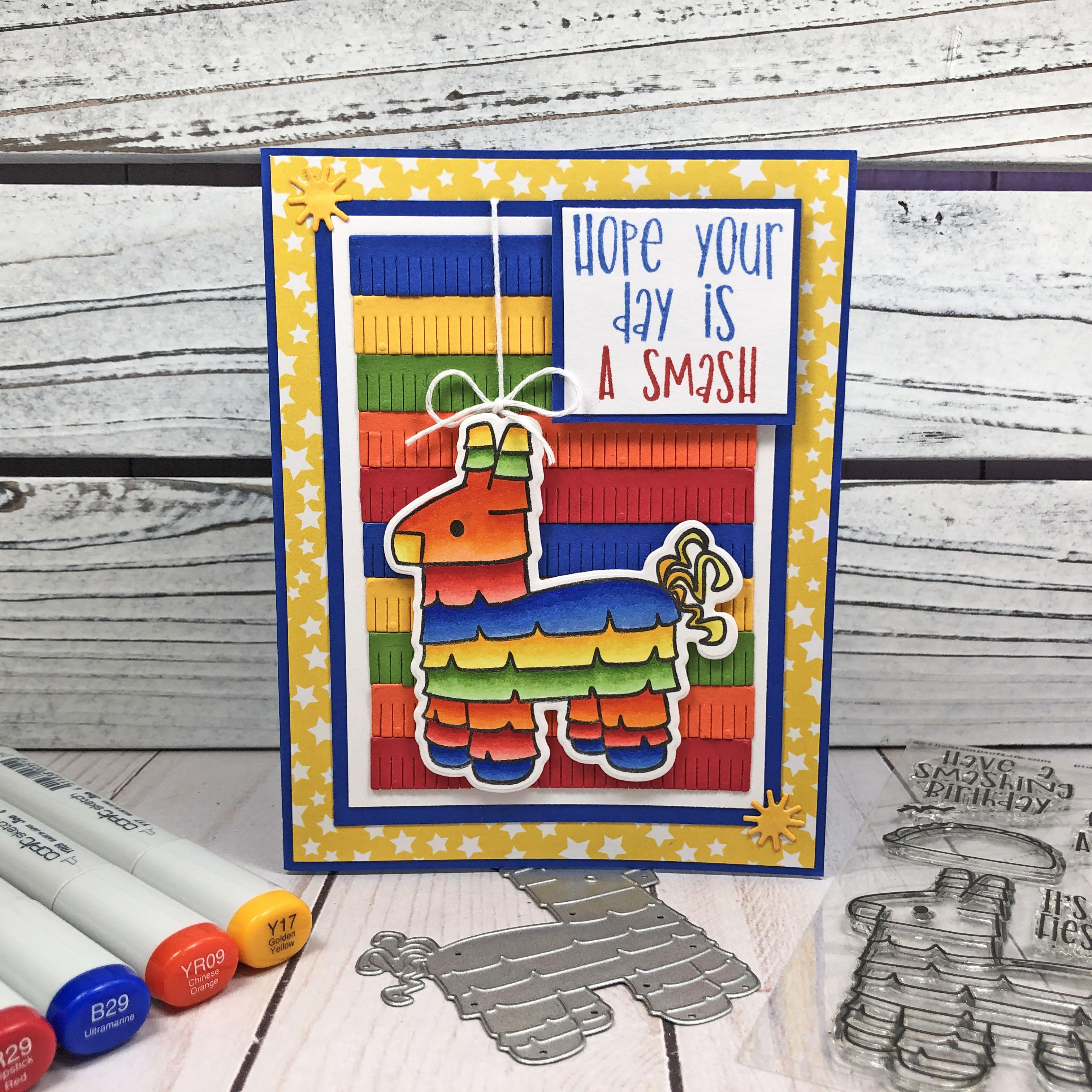 Pinata2Stamp Handmade Card