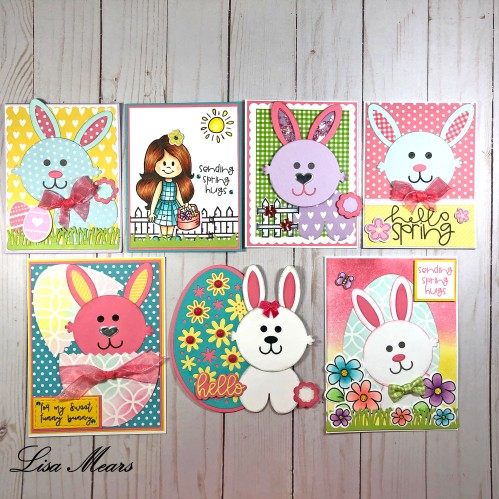 The Stamps of Life Sunshine Spring Kit - 7 Cards 1 Kit
