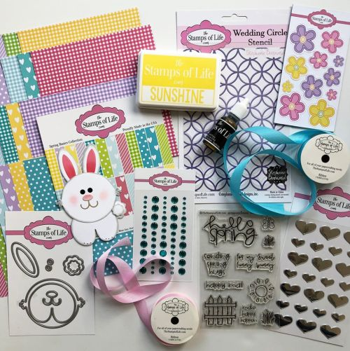 The Stamps of Life Sunshine Spring Kit