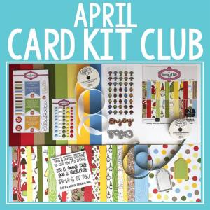 The Stamps of Life April Card Kit