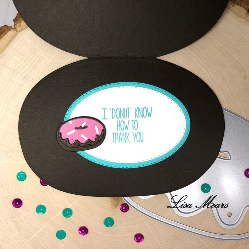 Donut Shaped Card