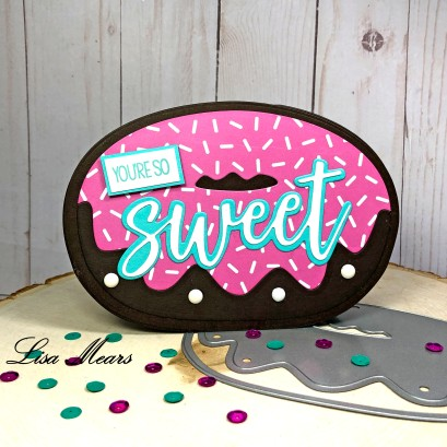 Donut Shaped Card