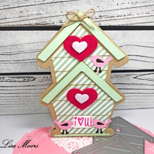 Birdhouse Shaped Card