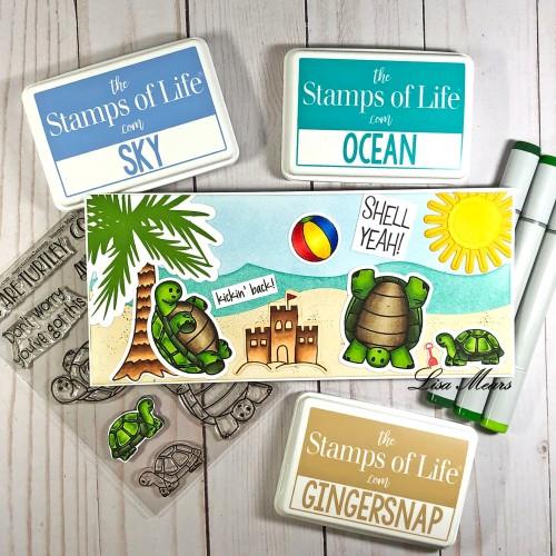 Turtle Slimline Card