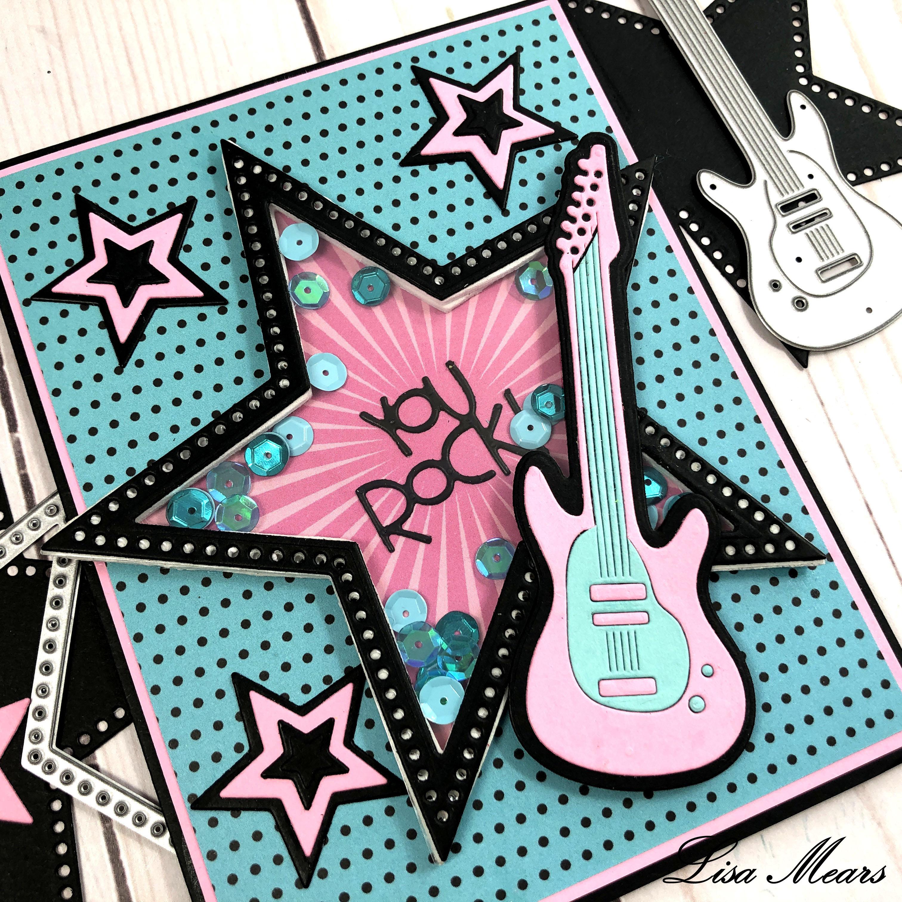 Guitar Shaker Card