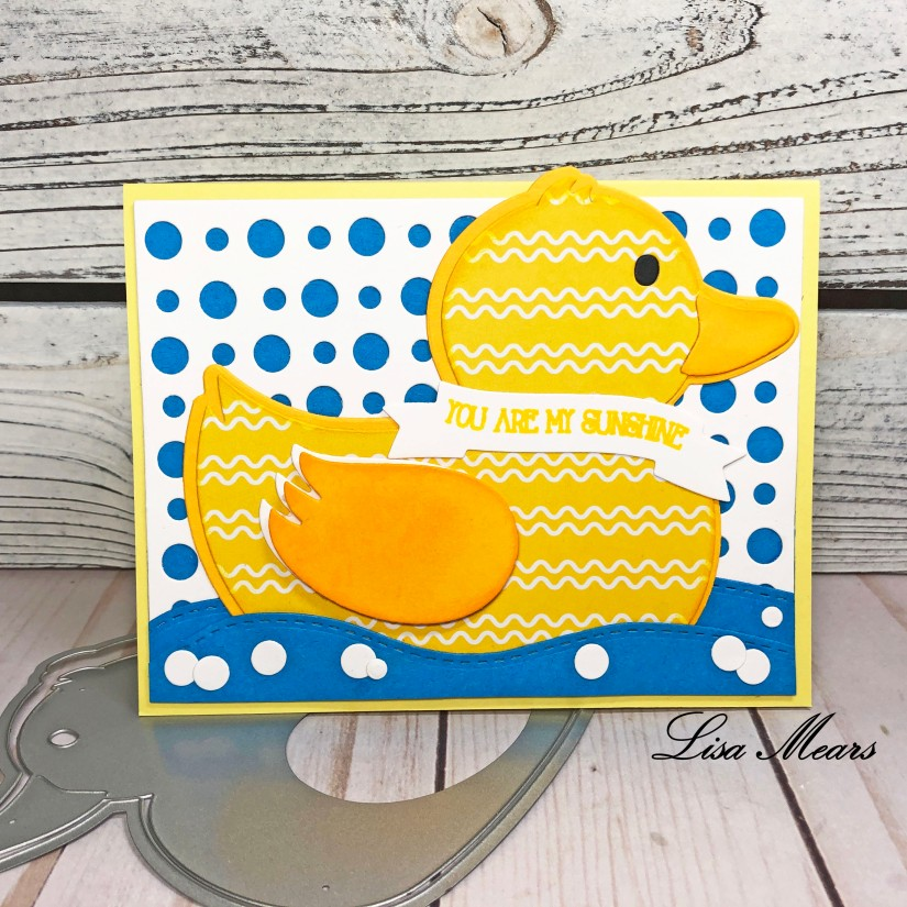 Duck Handmade Card The Stamps of Life