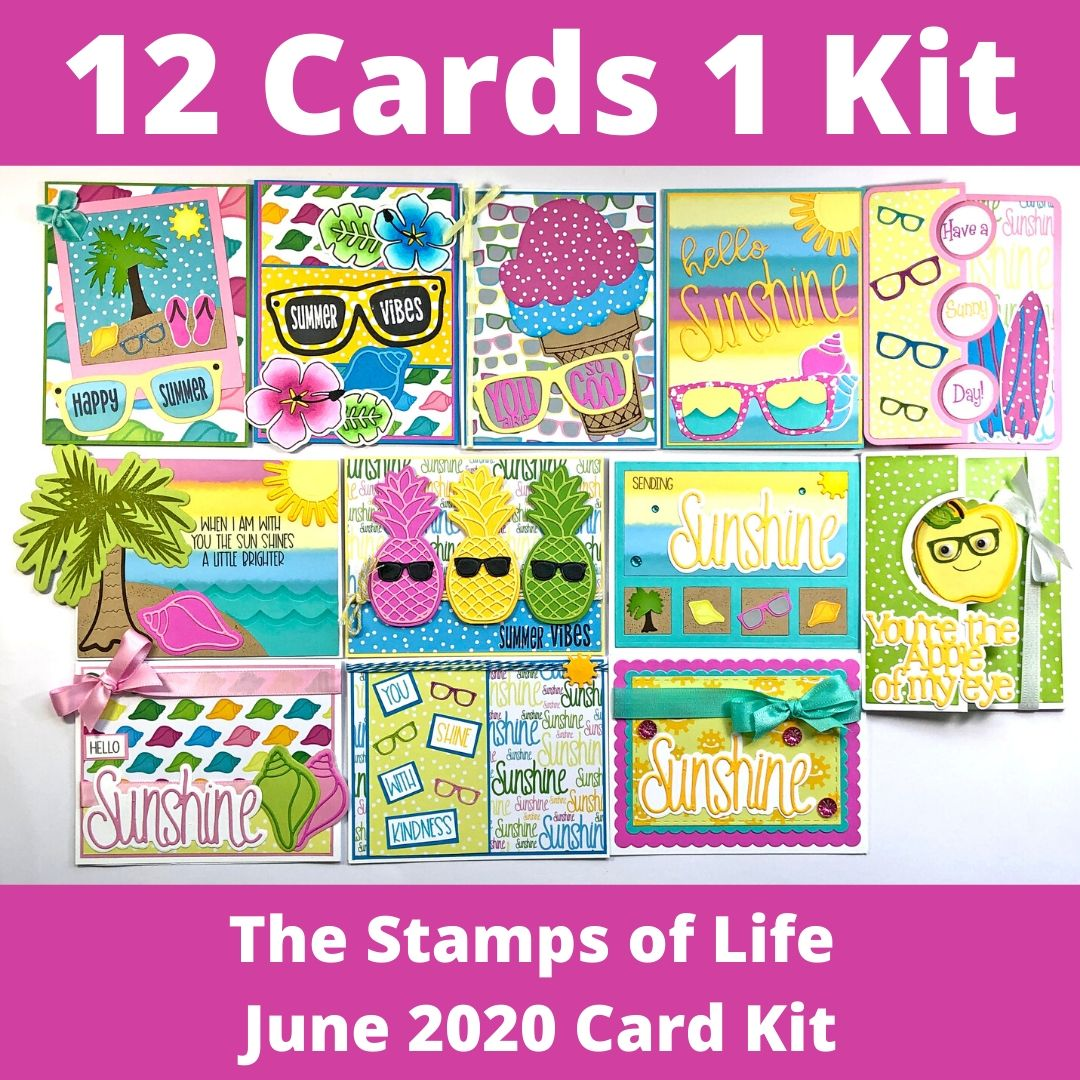 The Stamps of Life June Card Kit