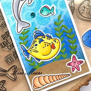 Under the Sea Slimline Card