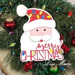 Santa Fold-it Card
