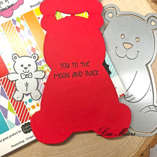 Bear Fold-it Card Inside