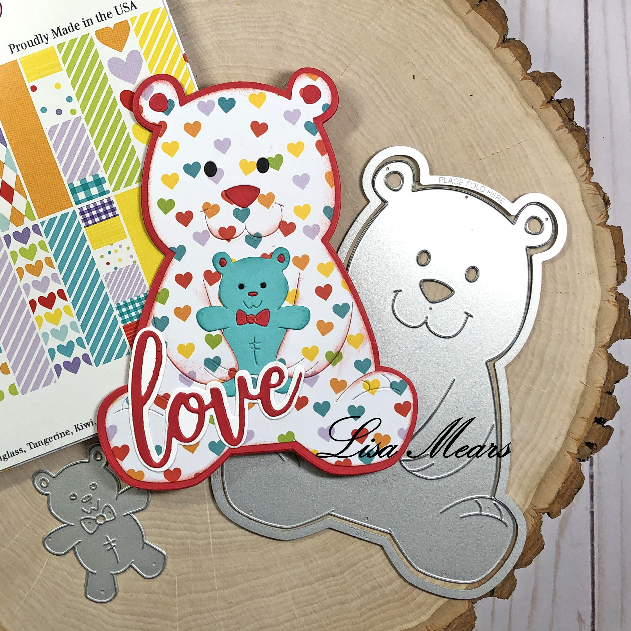 Bear Fold-it Card