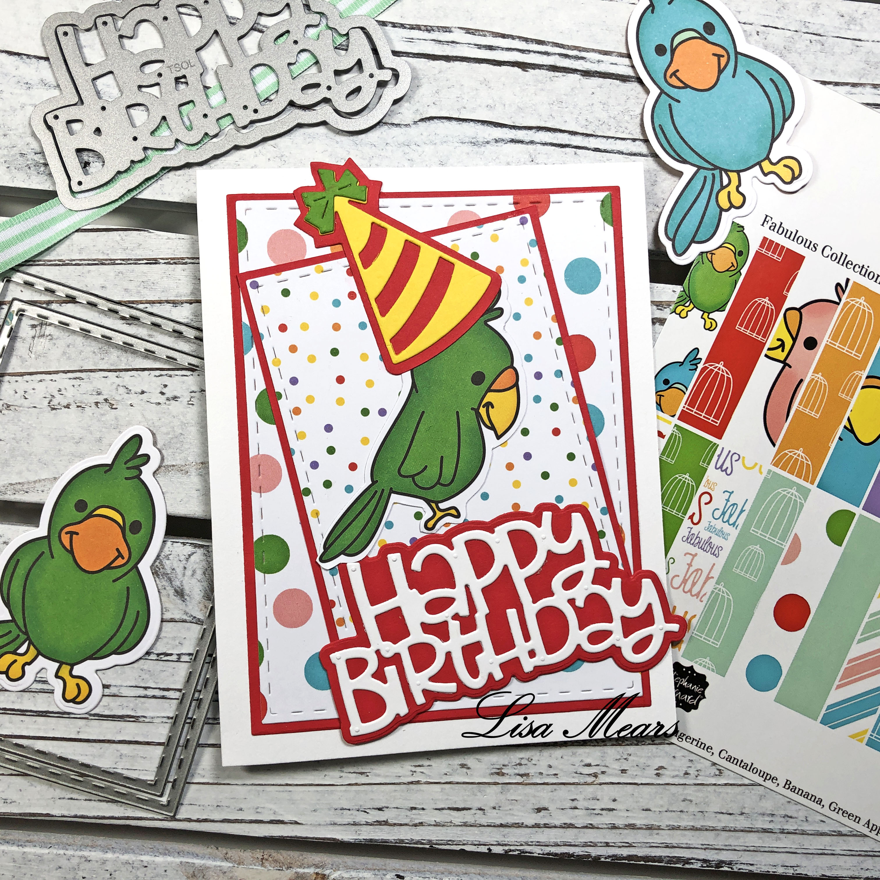The Stamps of Life August Card Kit 10 Cards 1 Kit - Card 2_Logo