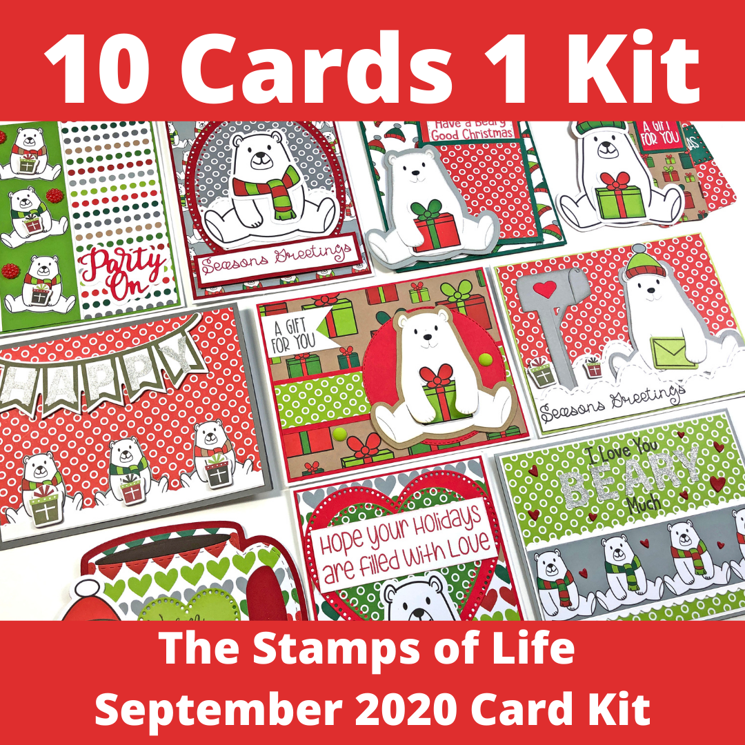 The Stamps of Life September Card Kit - 10 Cards 1 Kit