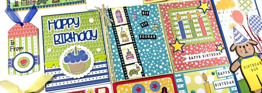 The Stamps of Life Birthday Kit - 13 Cards 1 Kit