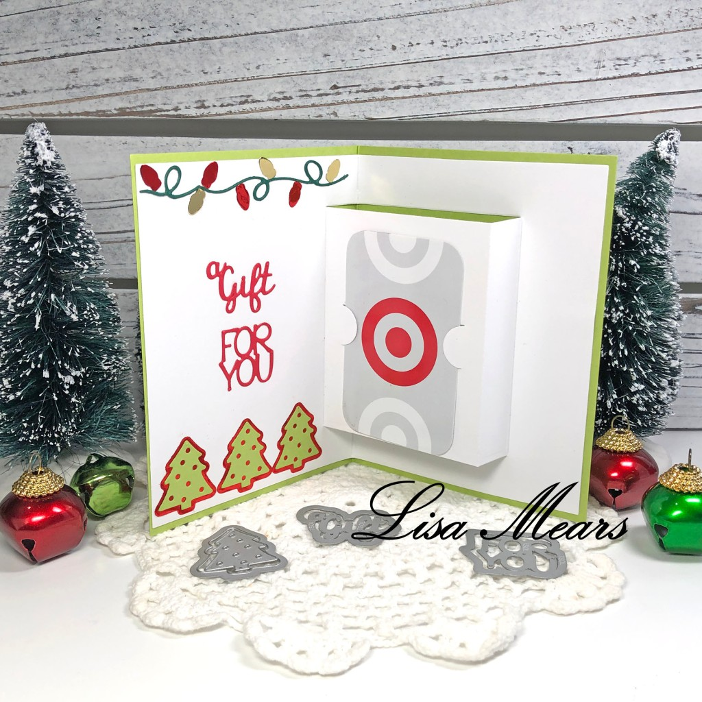 A2 Card with Gift Card Holder