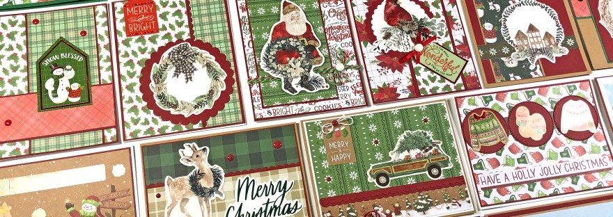 26 Christmas Cards with Recollections Say Freeze 6 x 6 Paper Pad